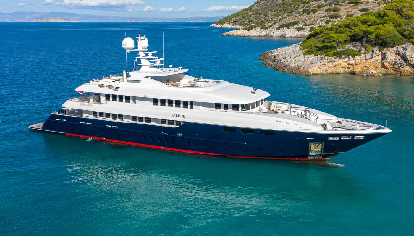Zaliv III   Mondomarine 50,20m   2011/2019   12 guests   6 cabins   11 crewyacht chartering