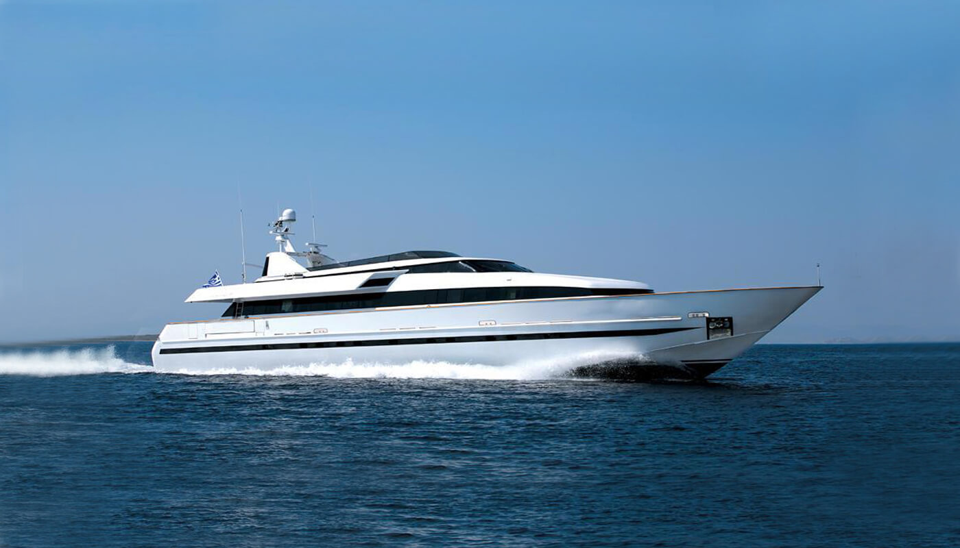 Obsesion  Baglietto 36.70m   1989/2012   10 guests   5 cabins   7 crewyacht chartering
