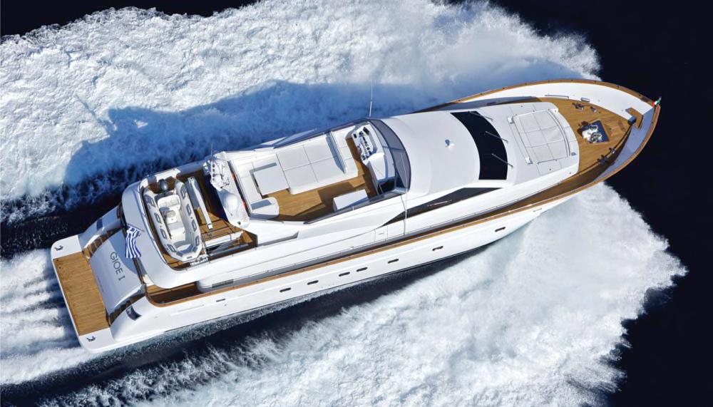 Gioe I  Tecnomar 100 30.48m  2009   12 guests   5 cabins   5 crewyacht chartering