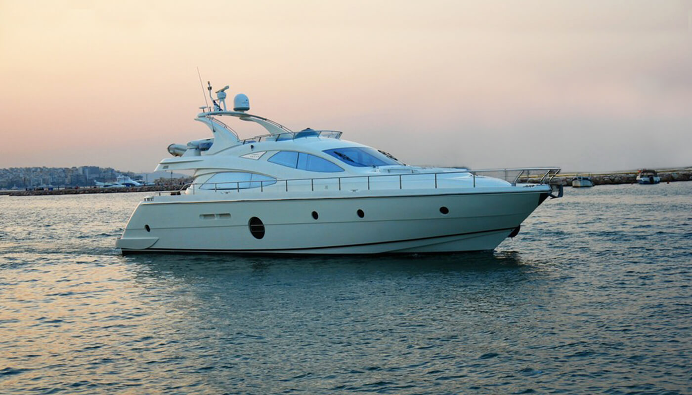 George V  Aicon 64 20m  2008 / 2017   8 guests   4 cabins   3 crewyacht chartering