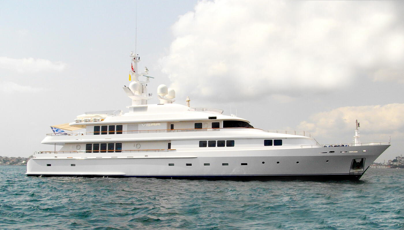 Vera   Abeking & Rasmussen 52m   2000/2009   12 guests   6 cabins   10 crewyacht chartering