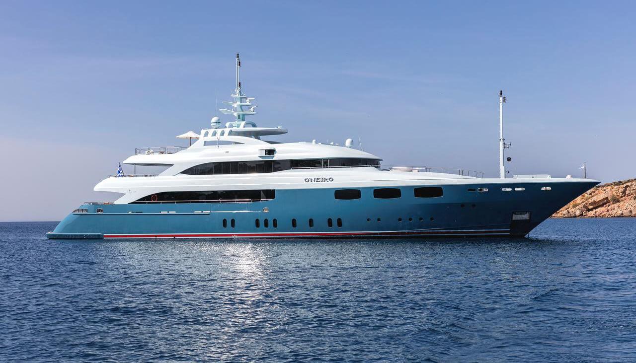 O' Neiro   Golden Yachts 52.73m   2008/2015   12 guests   7 cabinsyacht chartering