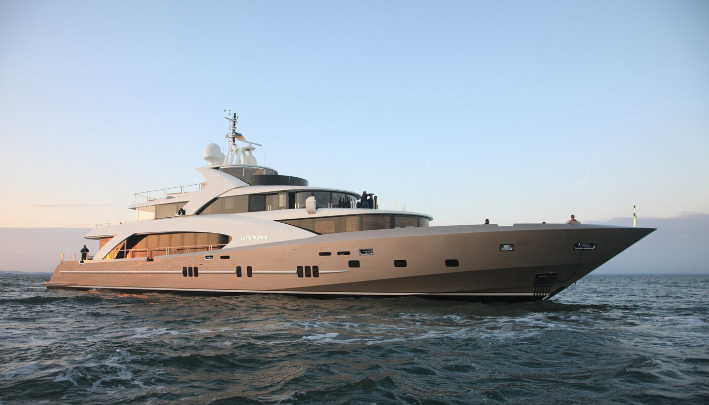 La Pellegrina   Couach 49.99m   2012/2015   12 guests   6 cabins   10 crewyacht chartering