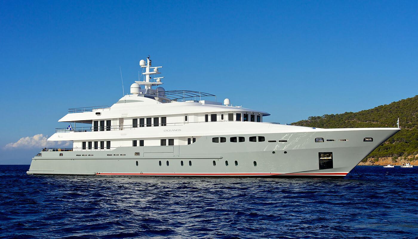 O'Ceanos   Mondomarine 49.23m   2006/2013   12 guests   7 cabins   11 crewyacht chartering