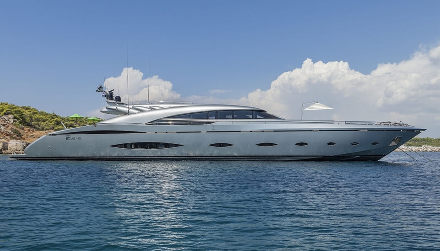 My Toy   AB Yachts42.67m   2009/2013   10 guests   5 cabinsyacht chartering