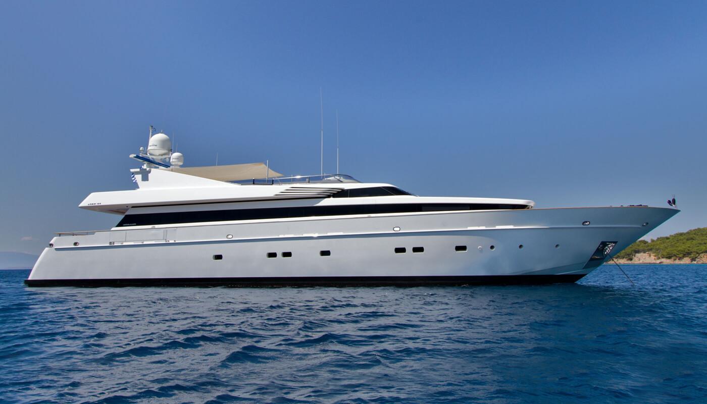 Mabrouk   Cantieri di Pisa39.80m   2004/2012   12 guests   4 cabinsyacht chartering