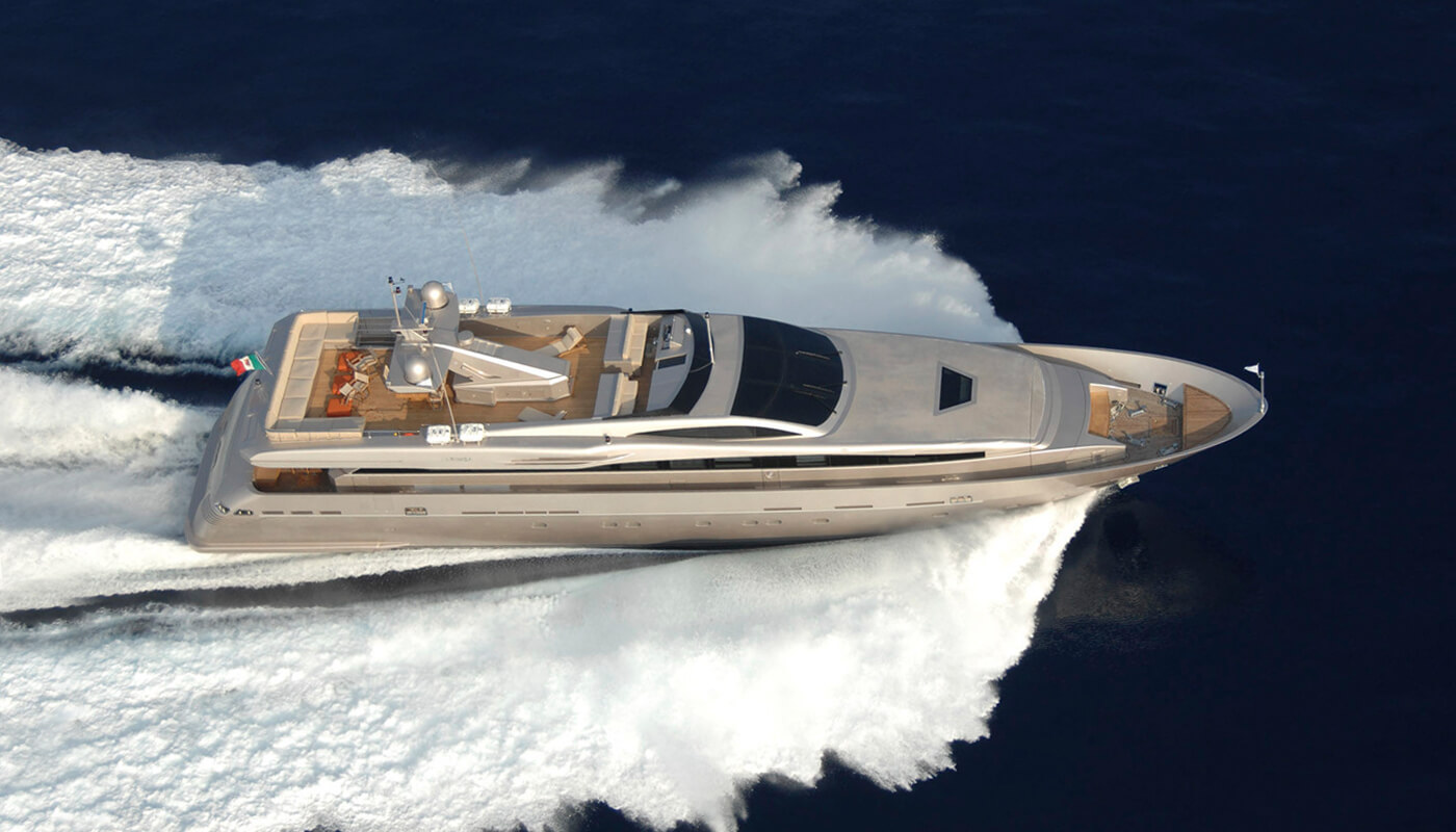 Mado   Admiral - CNL 39.62m   2009 / 2018   11 guests   5 cabinsyacht chartering