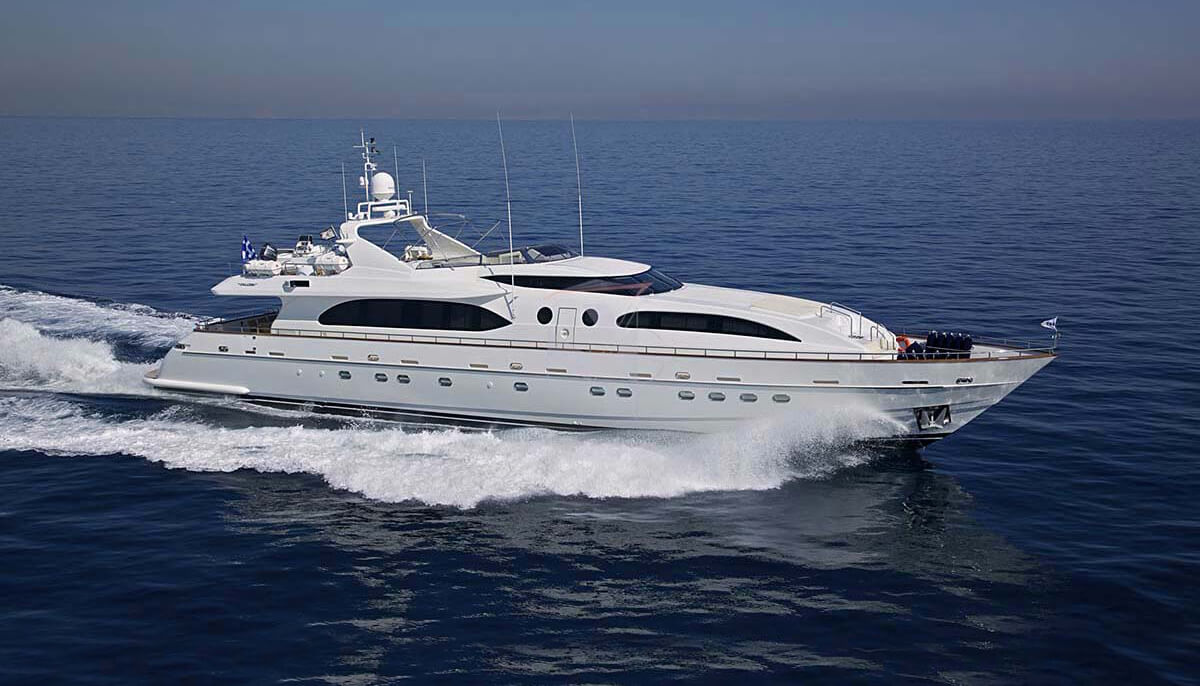 Helios   Falcon 35.50m   2010 / 2020   12 guests   5 cabinsyacht chartering