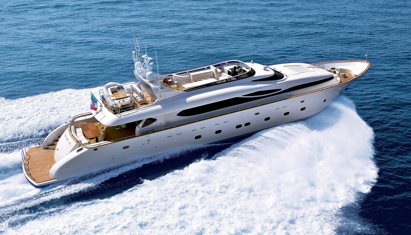 Paris A   Maiora 35m  2009 / 2018   12 guests   5 cabinsyacht chartering