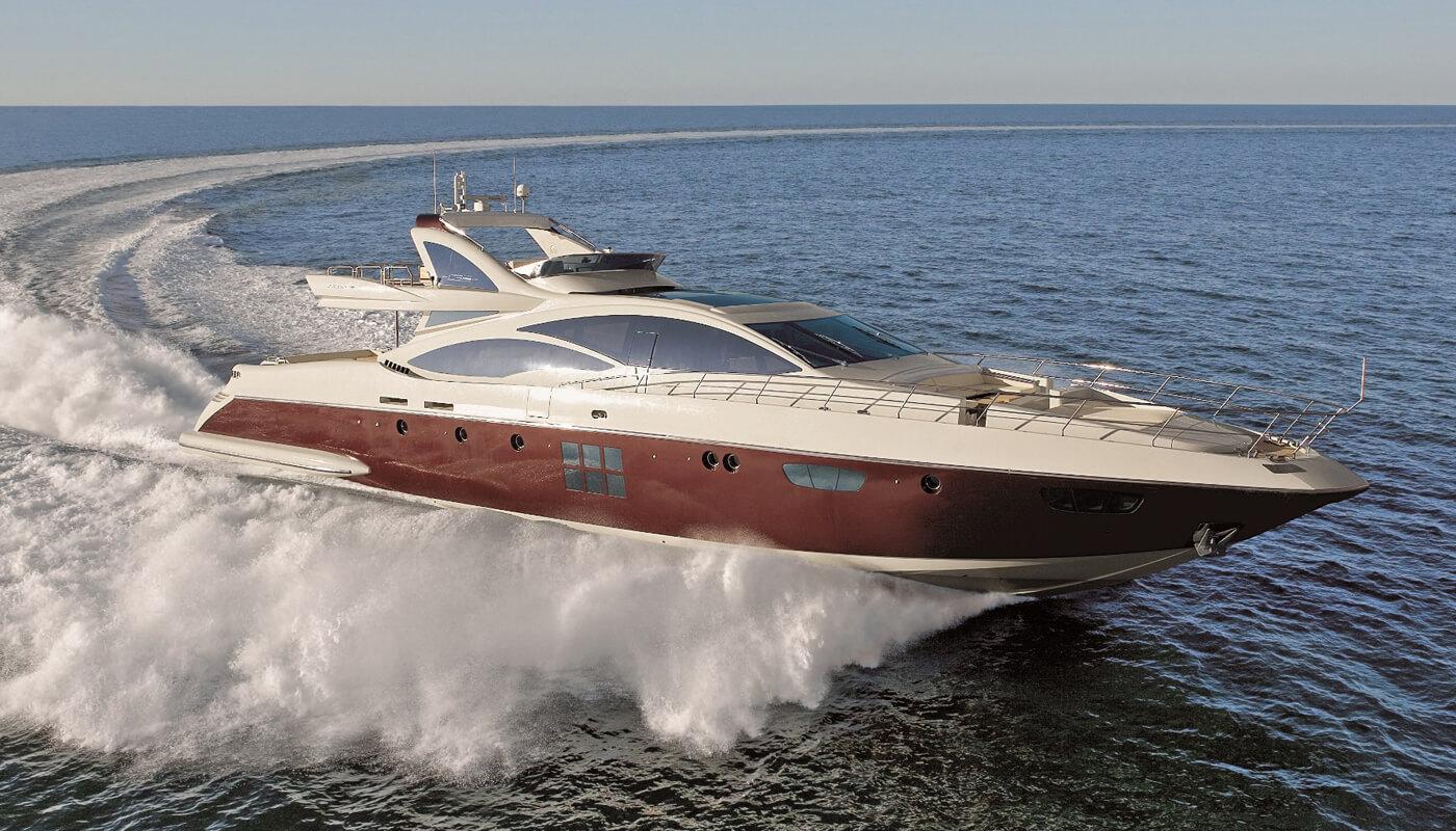 Duke   Azimut 31.43m  2010 / 2020   10 guests   4 cabins  6 crewyacht chartering