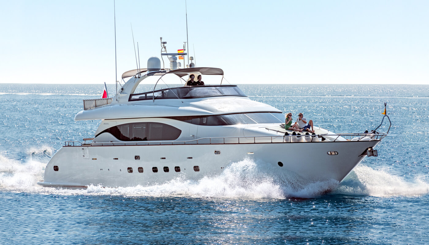 Irene's   Maiora 26.60m   2003 / 2018   10 guests   4 cabinsyacht chartering