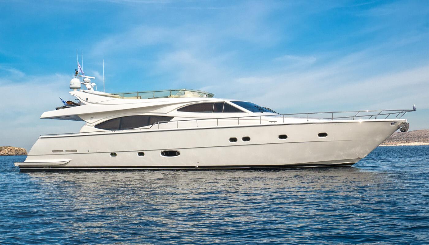 Amor   Ferretti23.45m   2002 / 2014   8 guests   4 cabinsyacht chartering