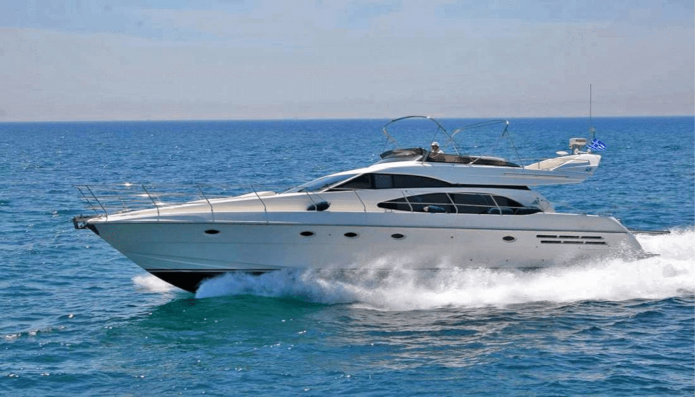 HarryLou  Azimut 18m  2001   6 guests   3 cabins   2 crewyacht chartering