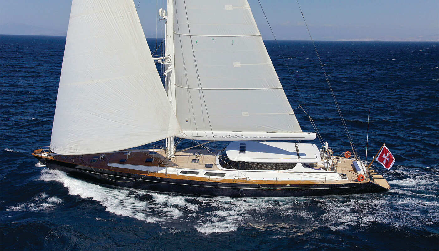 Allure  Sterling Yachts 40.53m   1994 / 2009   10 guests   4 cabinsyacht chartering
