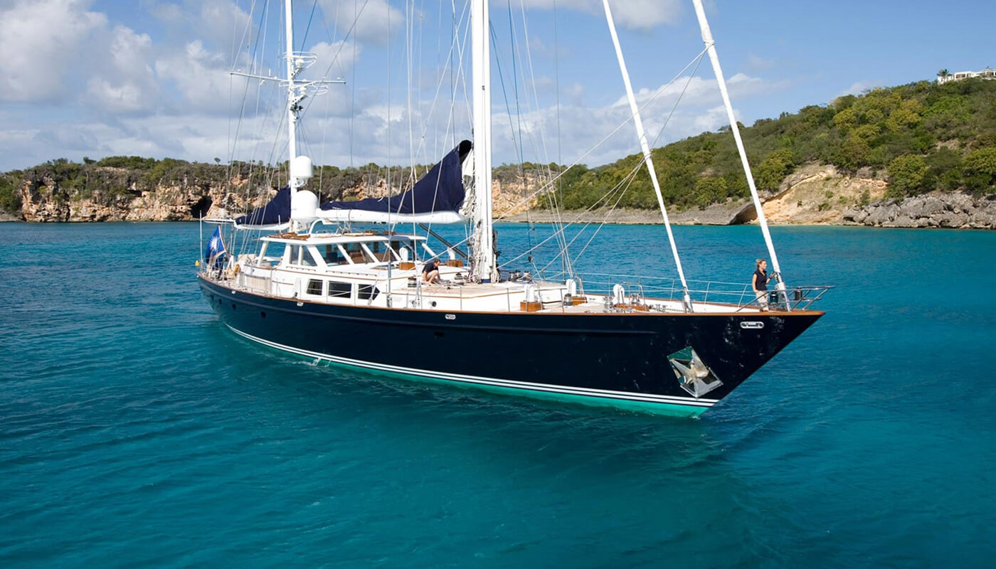 Axia  Palmer Johnson 37.50m  1990/2019   6 guests   3 cabins   6 crewyacht chartering